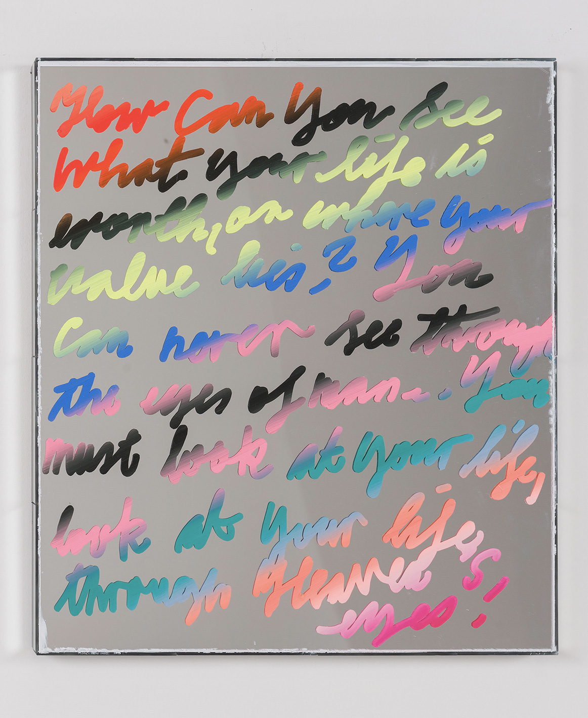06_Lukas-Glinkowski_untititled-2021_oil-gloss-paint-acrylic-mirror-mirror-wood_60x50x35_web