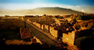 Ricostruzione Pompei - Pompei dal British Museum