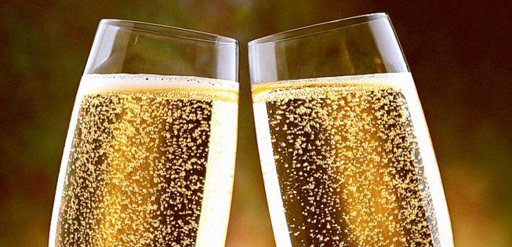 calici di champagne