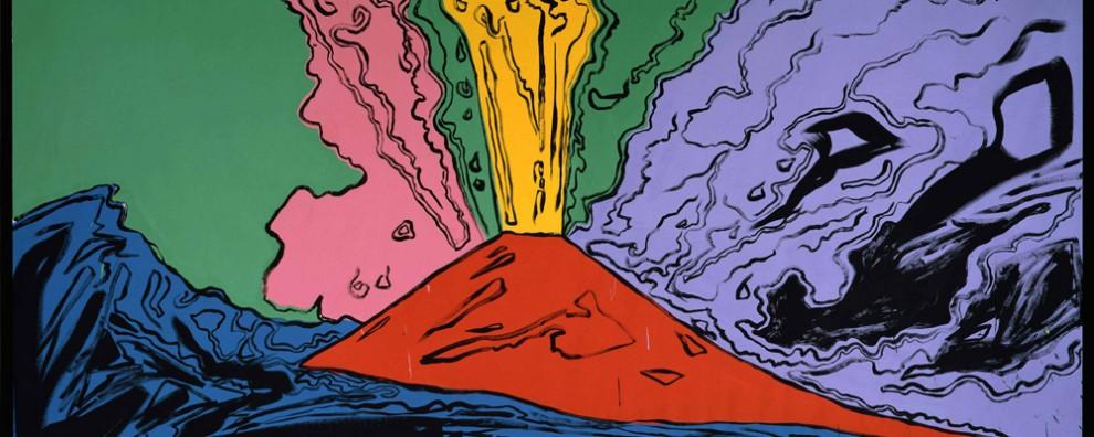 Andy Warhol - Il Vesuvio