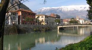 Espresso napoletano - Il fiume Liri, confine naturale tra Campania e Lazio