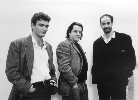 Antonio Neiwiller, con Mario Martone e Toni Servillo