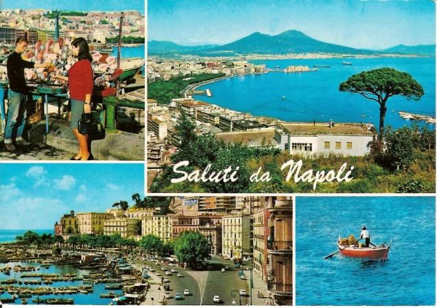 cartolina di napoli