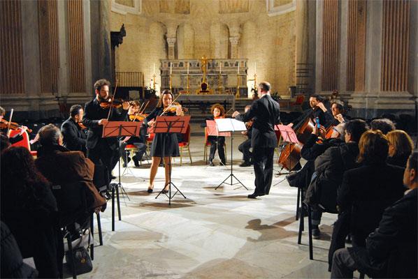 foto scattata ai concertisti