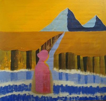 donna_con_piramidi_dipinto_di_salvatore_sarossa