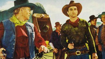 scena di film western
