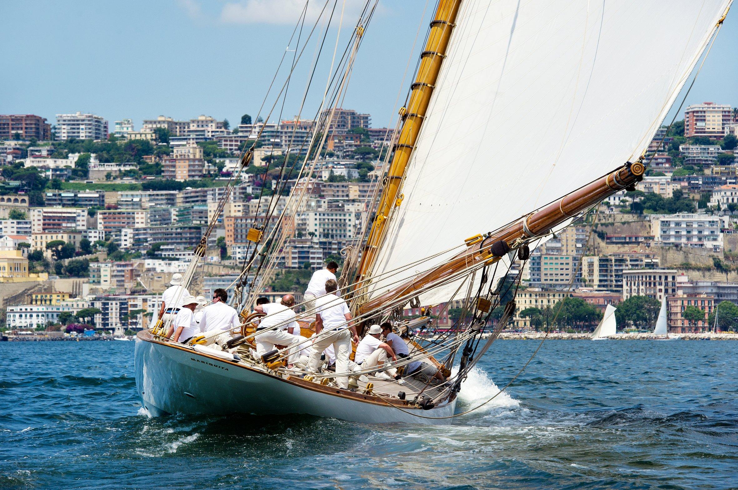 barche a vela d'epoca
