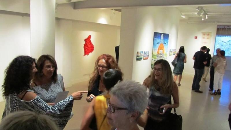 foto scattata durante la mostra