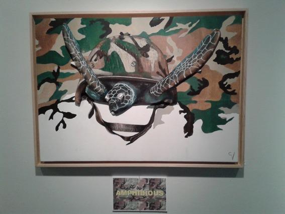 opera d'arte esposta a Los Angeles