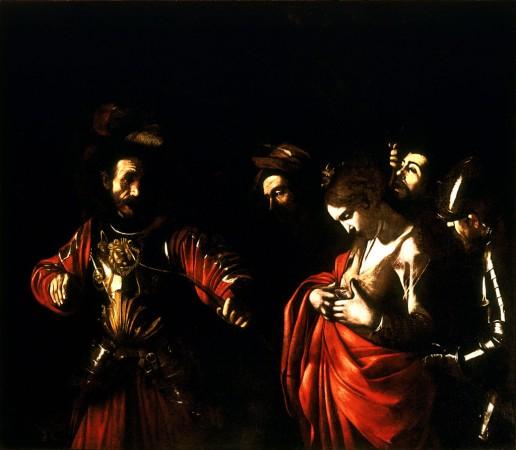 Michelangelo Merisi da Caravaggio, Martirio di Sant'Orsola, 1610, olio su tela, Galleria di Palazzo Zevallos Stigliano, Napoli