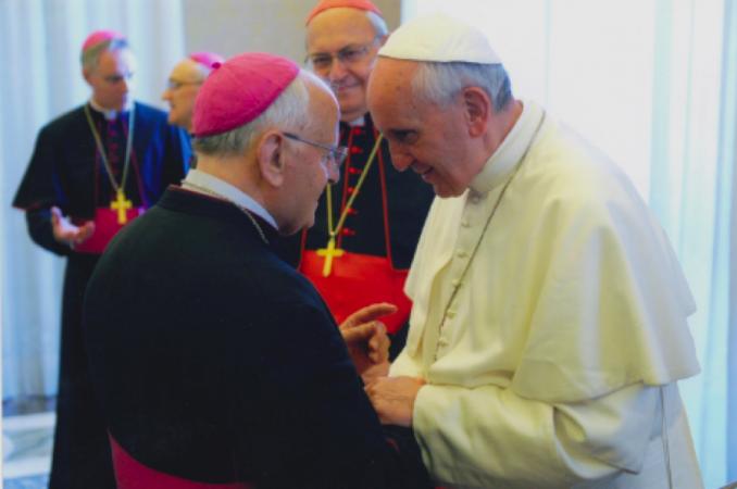 incontro con il papa