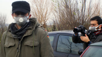foto scattata durante le riprese