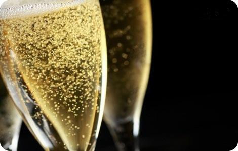 Bollicine di champagne