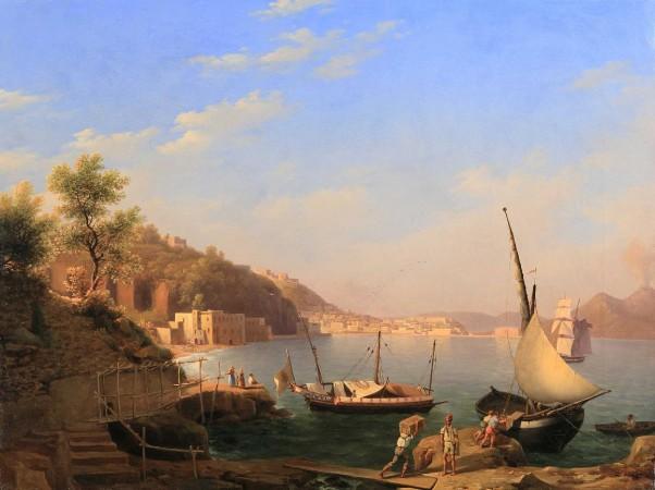 Barche nel Golfo di Napoli - 1833