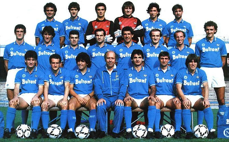 squadra del Napoli