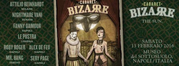 locandina Cabaret Bizarre