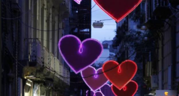 luminarie san valentino