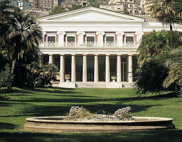 veranda villa Pignatelli