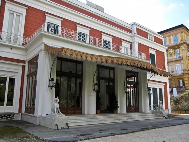 villa Pignatelli esterno