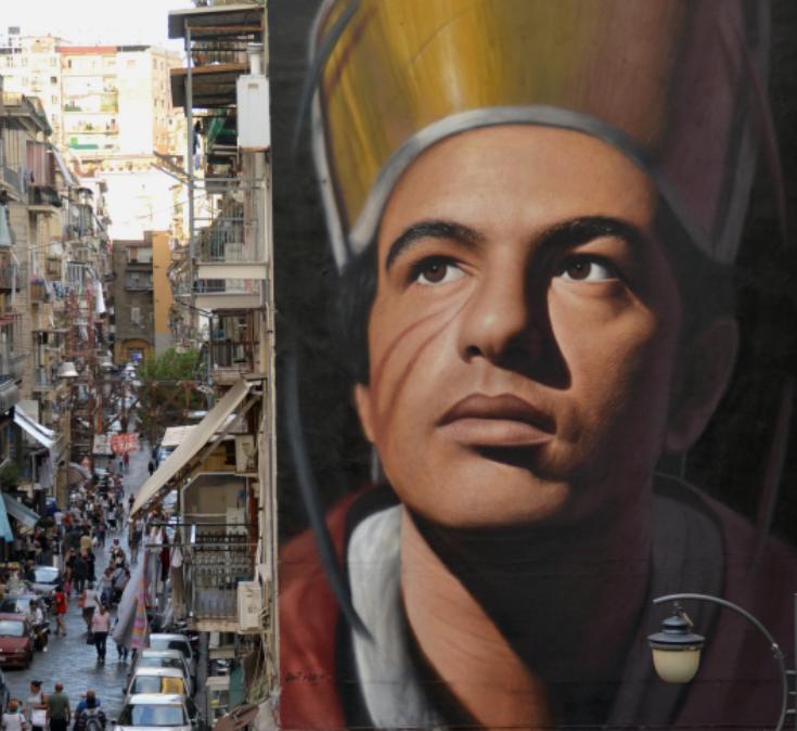 murale di San Gennaro a Forcella