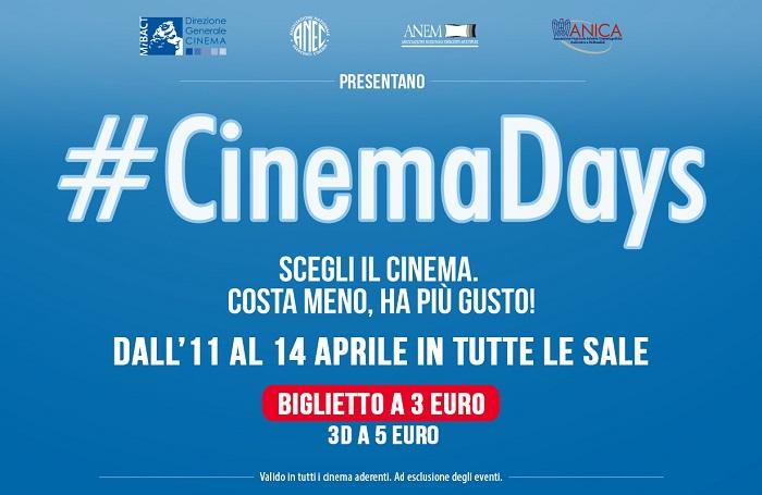 locandina CinemaDays-2016