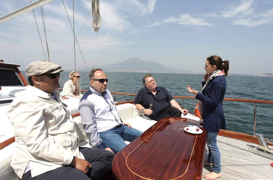Ospiti in barca