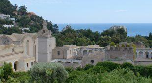 """Espresso napoletano - """"Aria di Capri"""" di  Ernesto Tatafiore alla Certosa di San Giacomo a Capri"""
