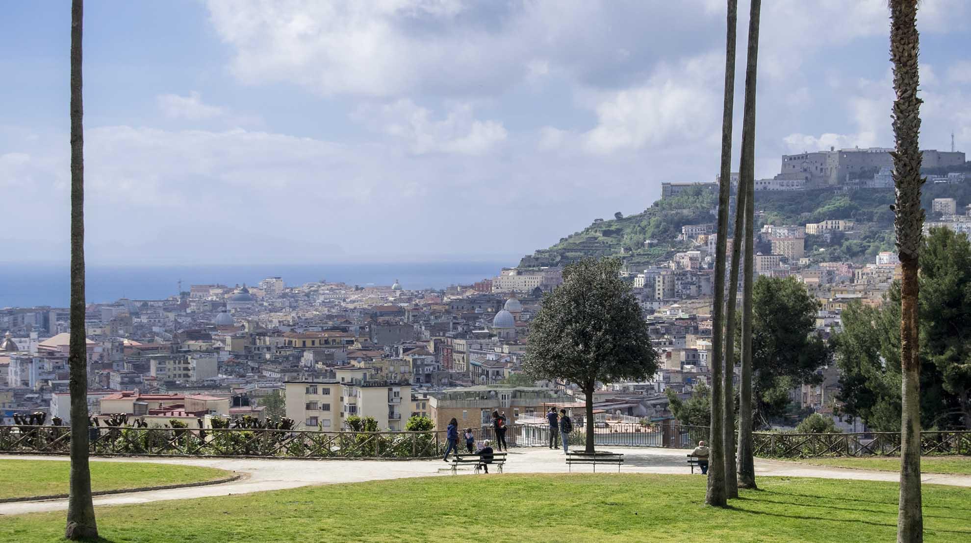 belvedere di Capodimonte