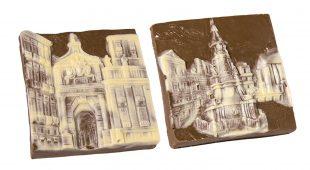Espresso napoletano - Piazze e porte di Napoli al cioccolato