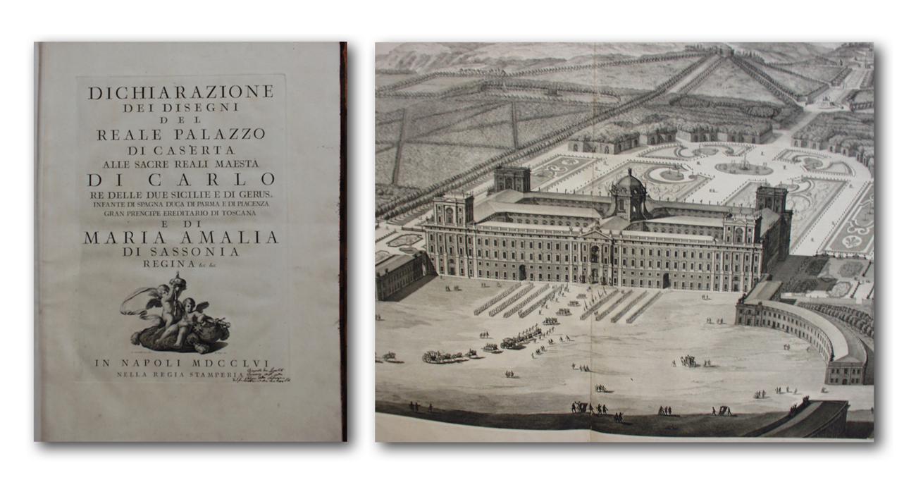 dichiarazione dei disegni del reale palazzo di caserta