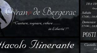 Espresso napoletano - Cyrano de Bergerac: lo spettacolo itinerante al Castello Lancellotti