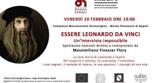 Espresso napoletano - ESSERE Leonardo da Vinci. Un'intervista impossibile