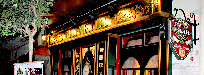 insegna del the kilt