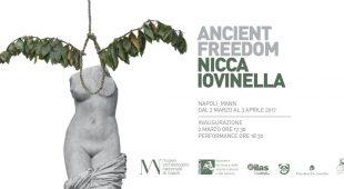 Espresso napoletano - L'Ancient freedom di Nicca Iovinella al MANN