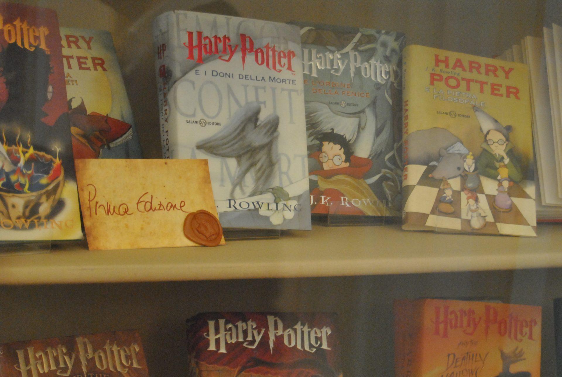 prime edizioni di harry potter