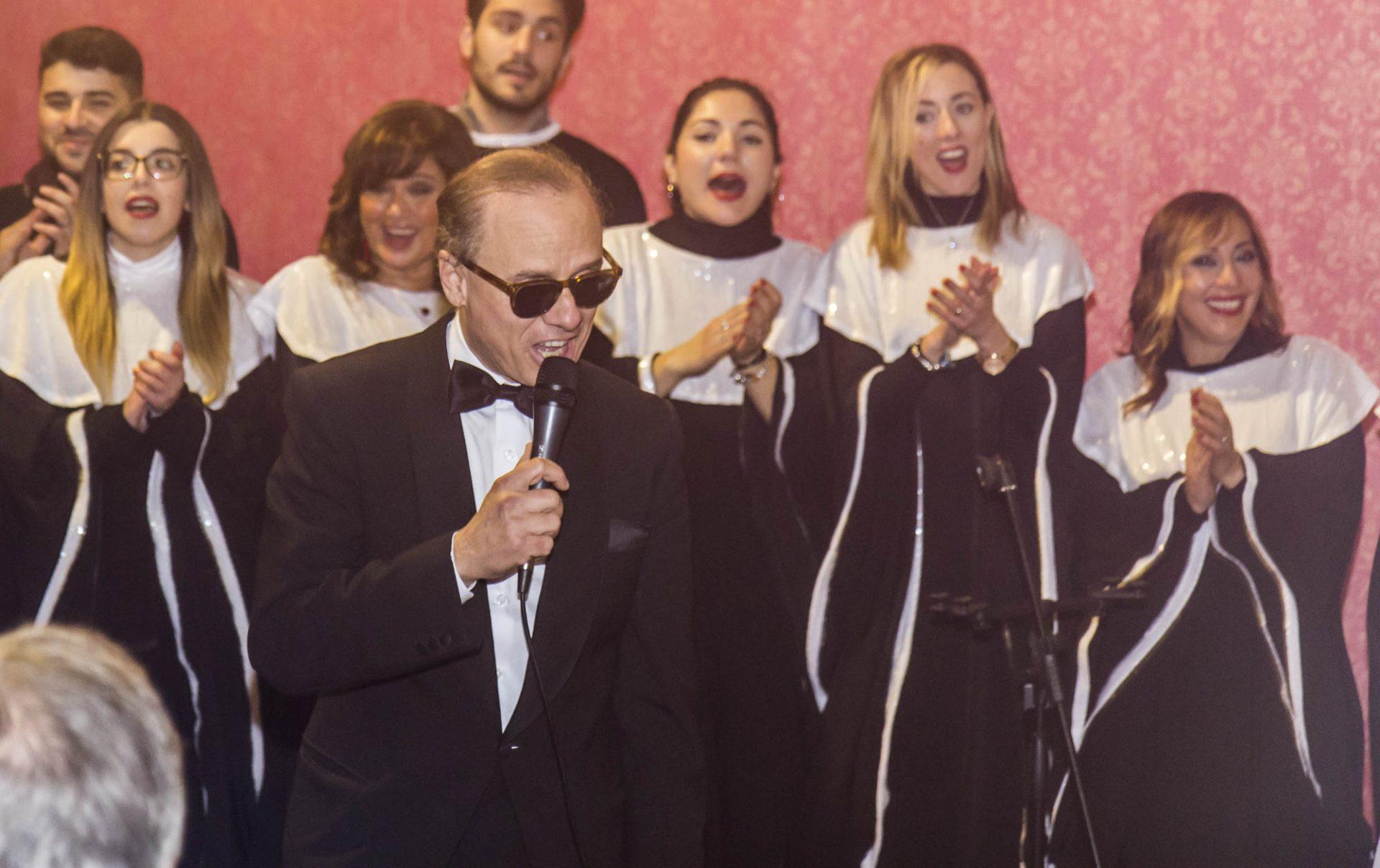 sergio carlino e il coro eyael