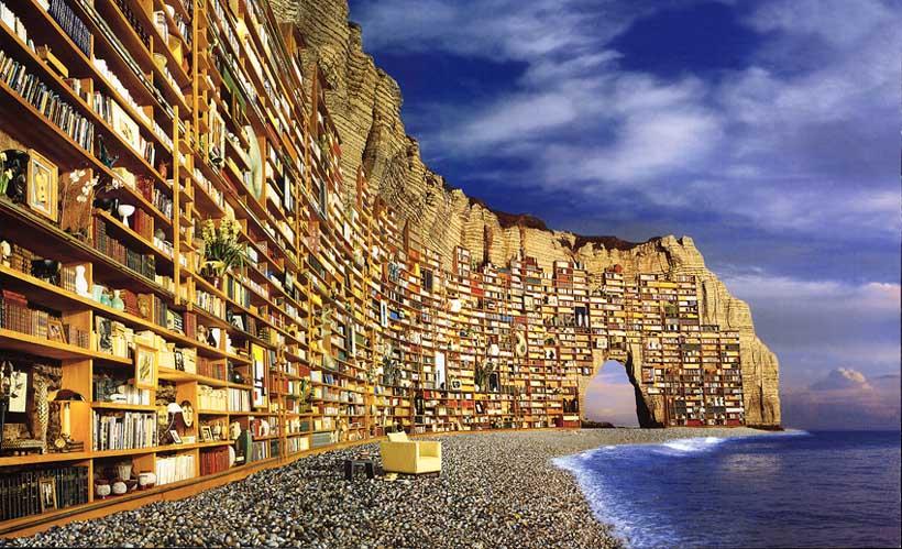 libri in riva al mare