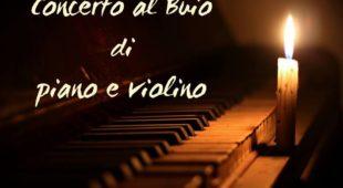 Espresso napoletano - Torna il Concerto al buio di piano e violino alla Galleria Borbonica