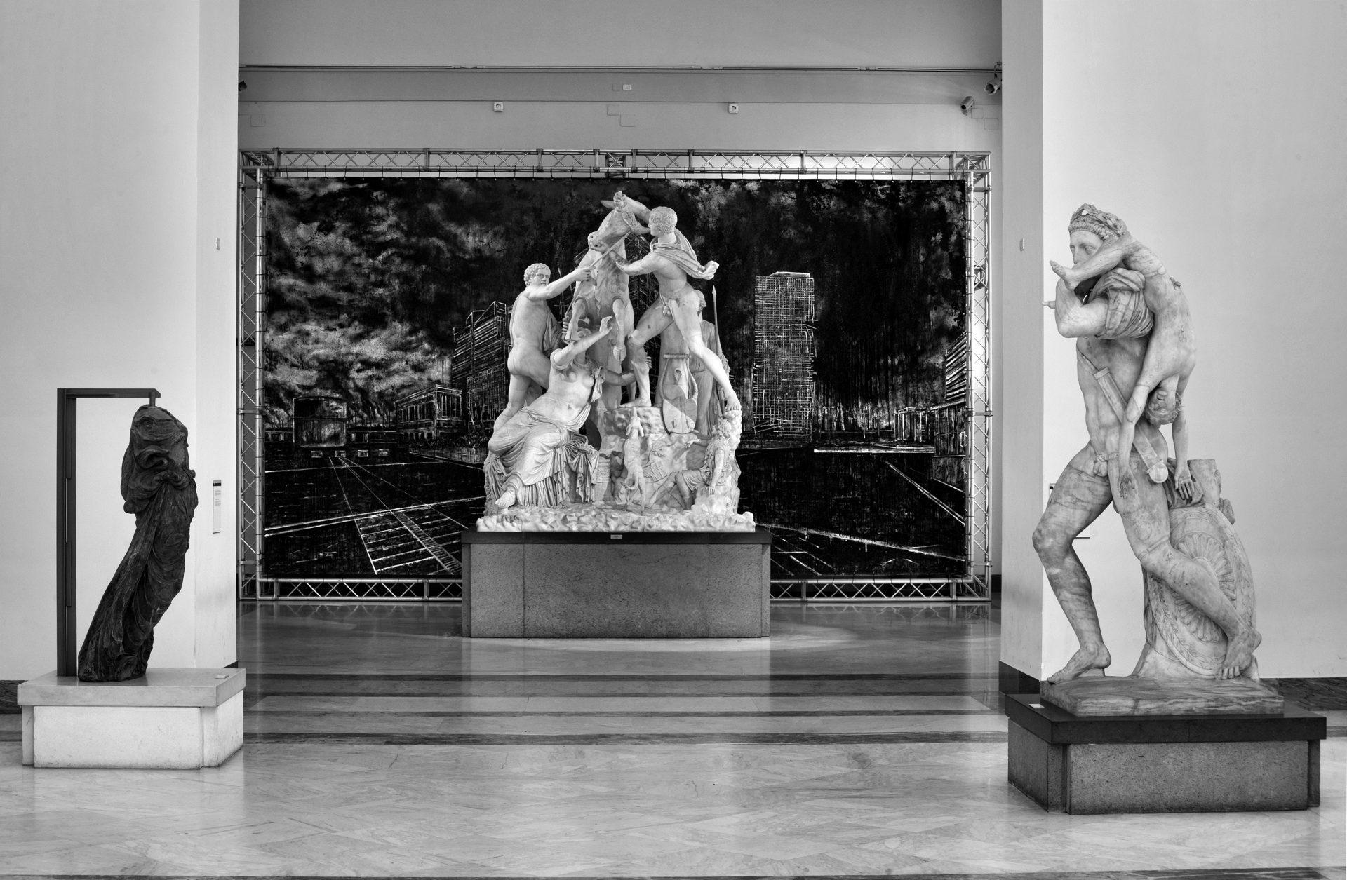 Christian Leperino, Landscapes of memory, 2012 (Sala del Toro Farnese)