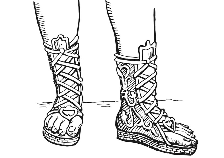 calzatura romana