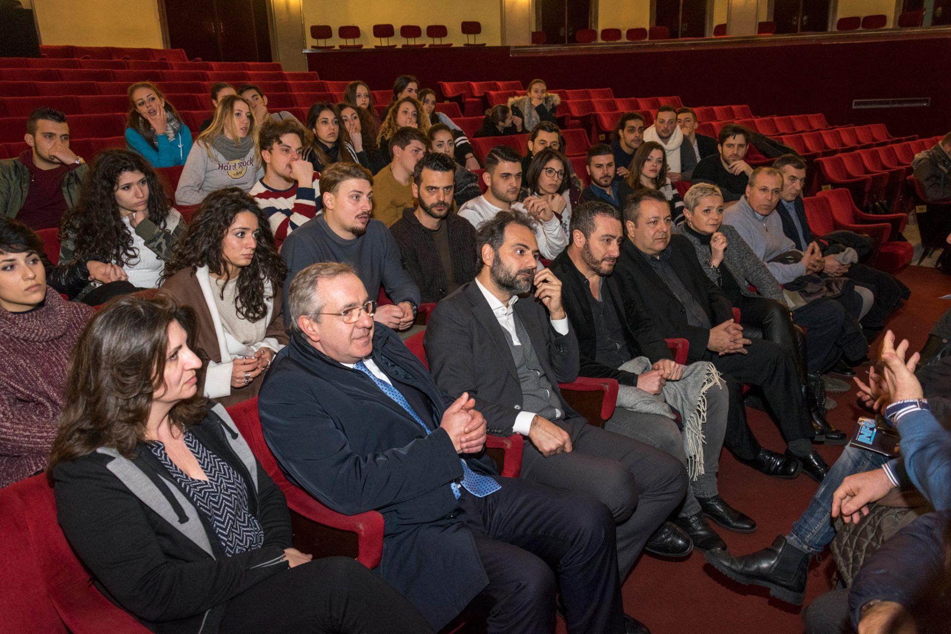 conferenza stampa via crucis politeama