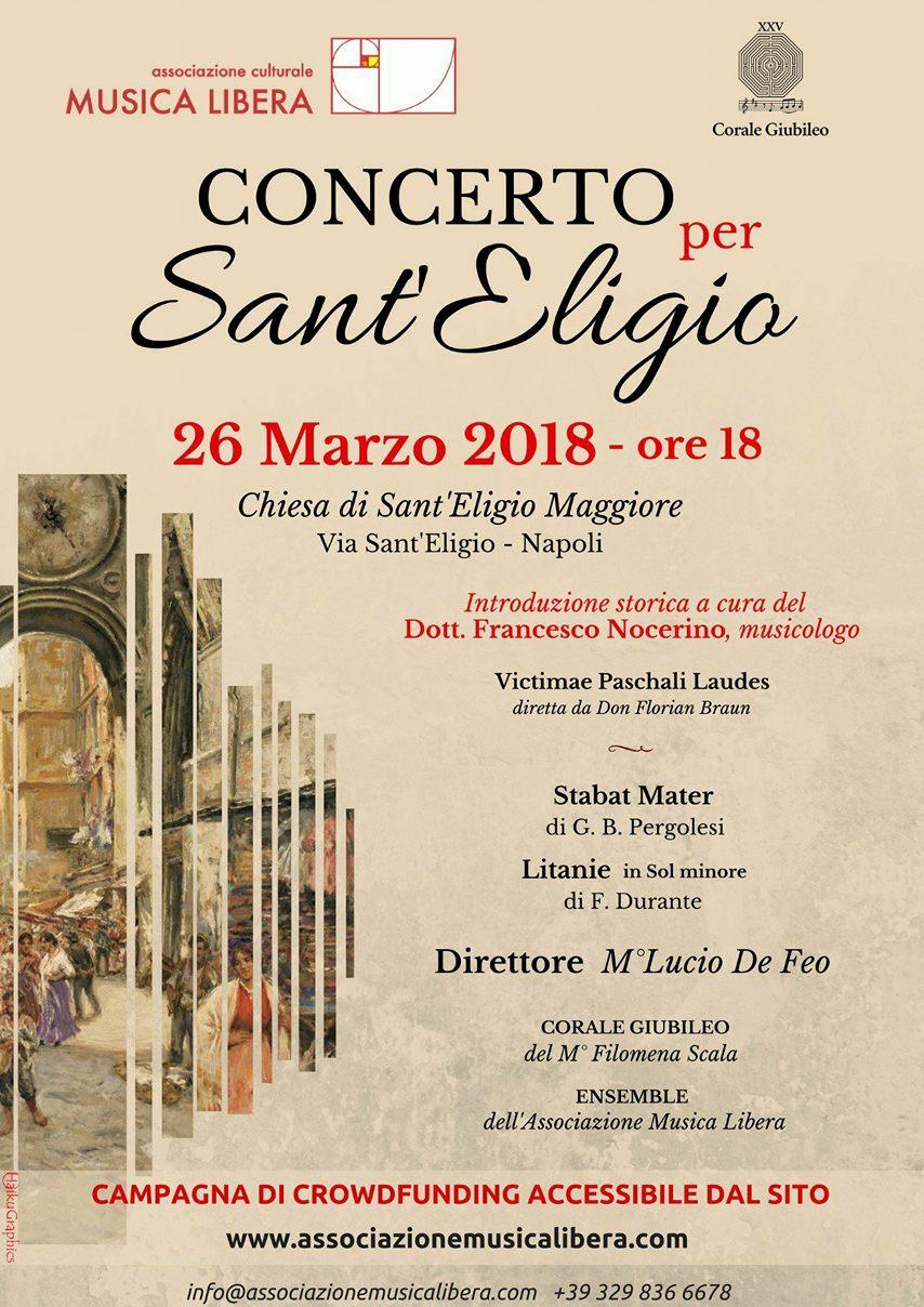 locandina concerto sant'eligio