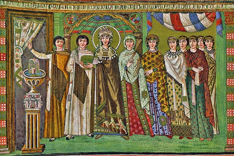 mosaico S. Vitale a ravenna