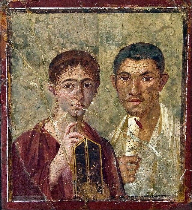 scrittura antichi romani