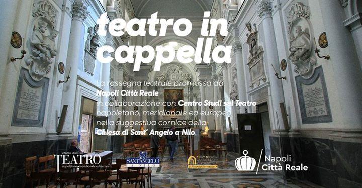 locandina teatro in cappella