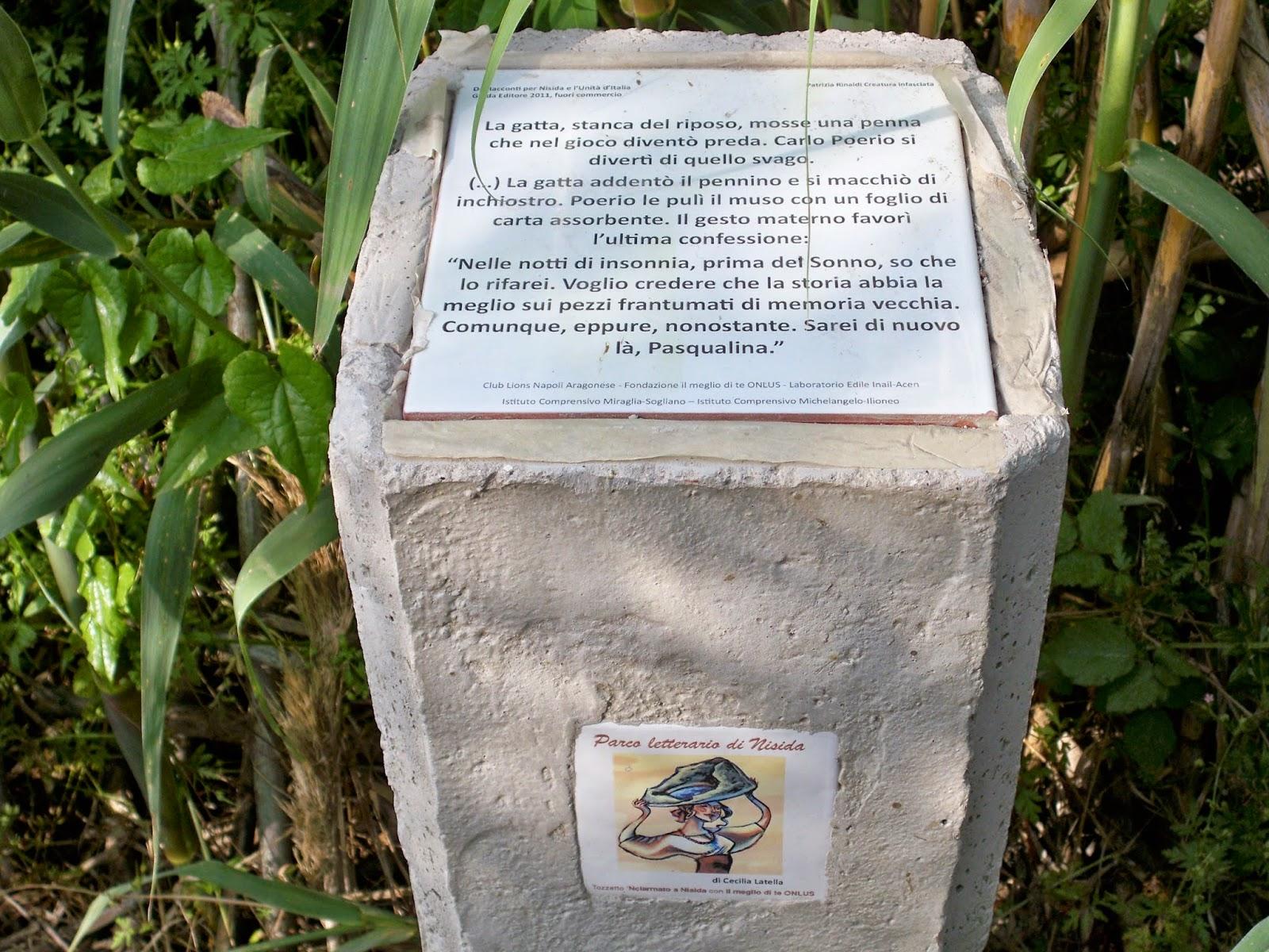 parco letterario di nisida