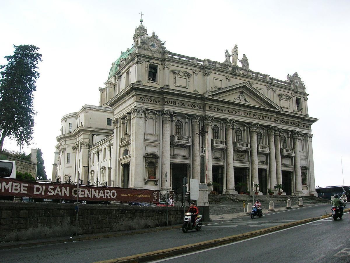 basilica del buon consiglio a capodimonte