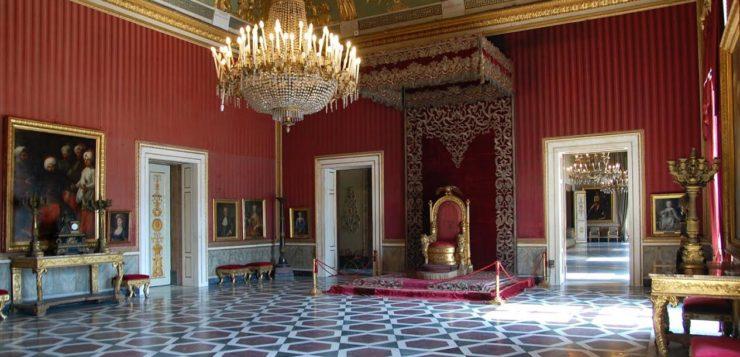 carnevale 2019 a Napoli   palazzo reale