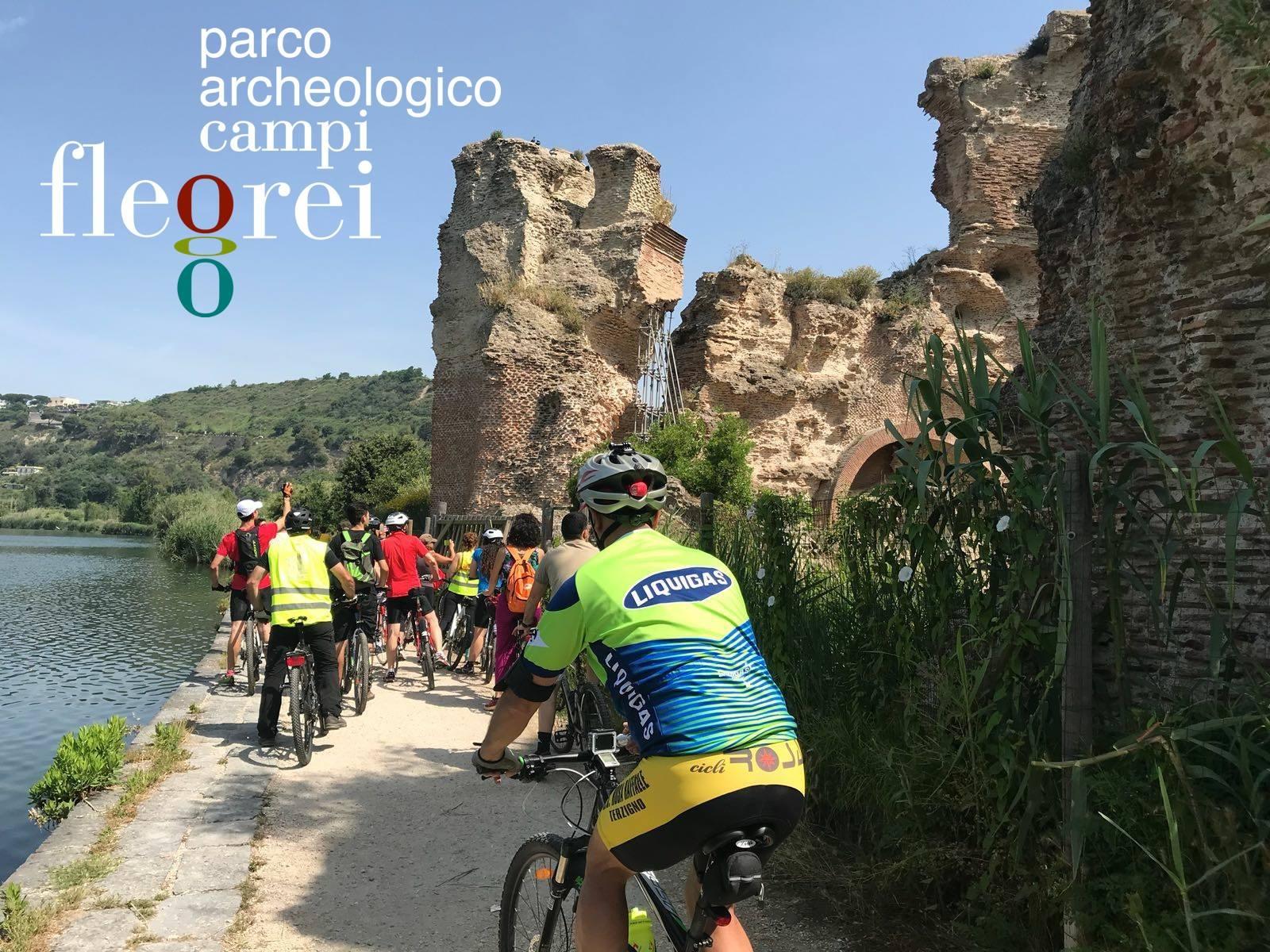 archeo bici tour campi flegrei