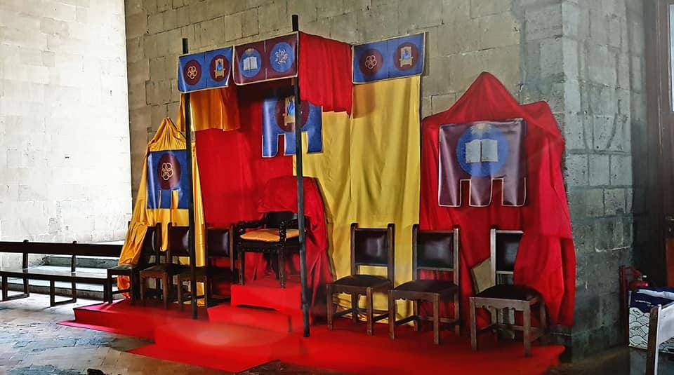 trono alfonso di aragona